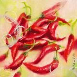 Chilis I Posters by Emmanuelle Mertian de Muller