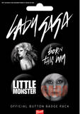Lady Gaga Born This Way-Badge Pack Badge