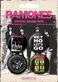 Ramones-Badge Pack Badge