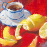 Thé au citron I Art by Emmanuelle Mertian de Muller