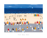 Fun Day Out Giclee Print by Laura Palmer