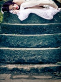 Sleeping Fairy Photographic Print by Jess Rigley