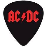 AC/DC Plectrum Vinyl Sticker Pegatinas