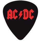 Acdc Plectrum-Vinyl Sticker Stickers