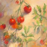 Tomates cerises I Print by Emmanuelle Mertian de Muller