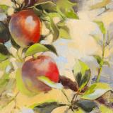 Les pommes I Posters by Emmanuelle Mertian de Muller