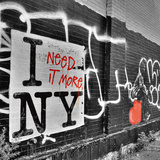 I need it More NY Print by Aurélien Terrible