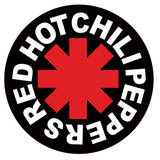Red Hot Chili Peppers - Logo Vinyl Sticker Stickers