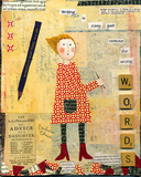 Words Giclee Print by Barbara Olsen