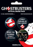 Ghostbusters - Peter, Ray & Egon-Badge Pack Badge