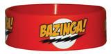 Bazinga Red-Wristband Wristband