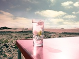 Drink at the Beach Photographic Print by Mia Friedrich