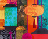 Orient I Giclee Print by Sally Bennett Baxley
