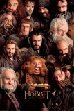 The Hobbit – Dwarves Póster