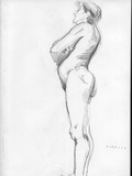 Life Drawing Photographic Print by Tim Kahane