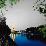 Eiffel Reflect Posters by Anne Valverde