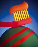 Toothbrush Giclée-trykk av Frank Farrelly
