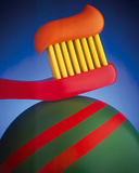 Toothbrush Giclee Print by Frank Farrelly