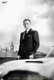 James Bond – Bond & DB5 - Skyfall - Poster