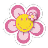 Smiley - Flower-Vinyl Sticker Stickers