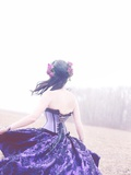Twirling Photographic Print by  Winter Wolf Studios