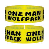 One Man Wolfpack-Wristband Wristband