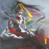 Geisha I Art by Cédric Cazal