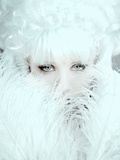 White Dreamer Photographic Print by  Winter Wolf Studios