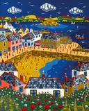 Summer at Mousehole Giclee Print by Brian Pollard