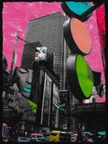 Times Square Poster von Riccardo Simonutti