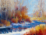 Winterscene Giclee Print by  Patrick