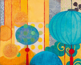 Turquoise Fortune Giclee Print by Sally Bennett Baxley