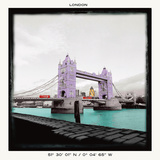 London Bridge Poster par Anne Valverde