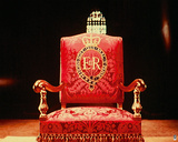 Coronation Throne, 1953 Giclee Print