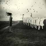 That Day She Contemplated Photographic Print by Marta Orlowska