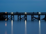 Night on the Dock Photographic Print by Sharon Wish