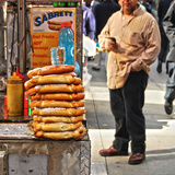 Food on the Street Photographic Print by Sabine Jacobs