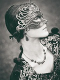 The Mask Photographic Print by Anna Mutwil