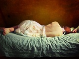 Sleeping Woman Photographic Print by Marta Orlowska