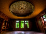 Large Room with Ceiling Rose Photographic Print by Nathan Wright