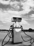 Old Gas Pump and New Mexico Landscape Sky, San Ysidro Photographic Print by Kevin Lange