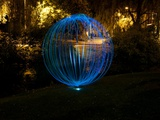 Blue Orb Photographic Print by Sharon Wish