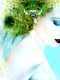 Water and Forest Nymph II Photographic Print by Elizabeth May and Alaya Gadeh