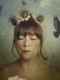 Sunflower Dream Photographic Print by Marta Orlowska