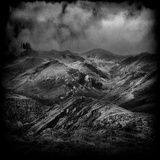 Stormy Weather over Mountains Photographic Print by Eudald Castells