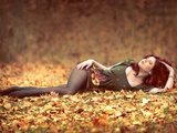 Fall into My Arms Photographic Print by  Winter Wolf Studios