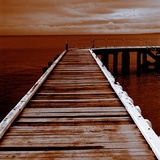 A Jetty over Water Photographic Print by Mark James Gaylard
