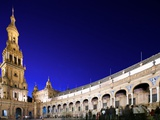 Plaza De EspaA, Seville, Spain Photographic Print by Felipe Rodriguez