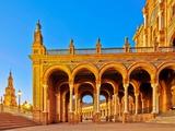 Plaza De Espana, Seville, Spain Photographic Print by Felipe Rodriguez