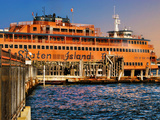 Staten Island Ferry, Manhattan, New York City Photographic Print by Sabine Jacobs